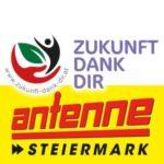 Antenne Steiermark bedankt sich bei Zukunft Dank Dir stellvertretend für alle ehrenamtlichen Helfer